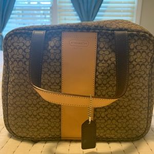 Coach signature C travel bag